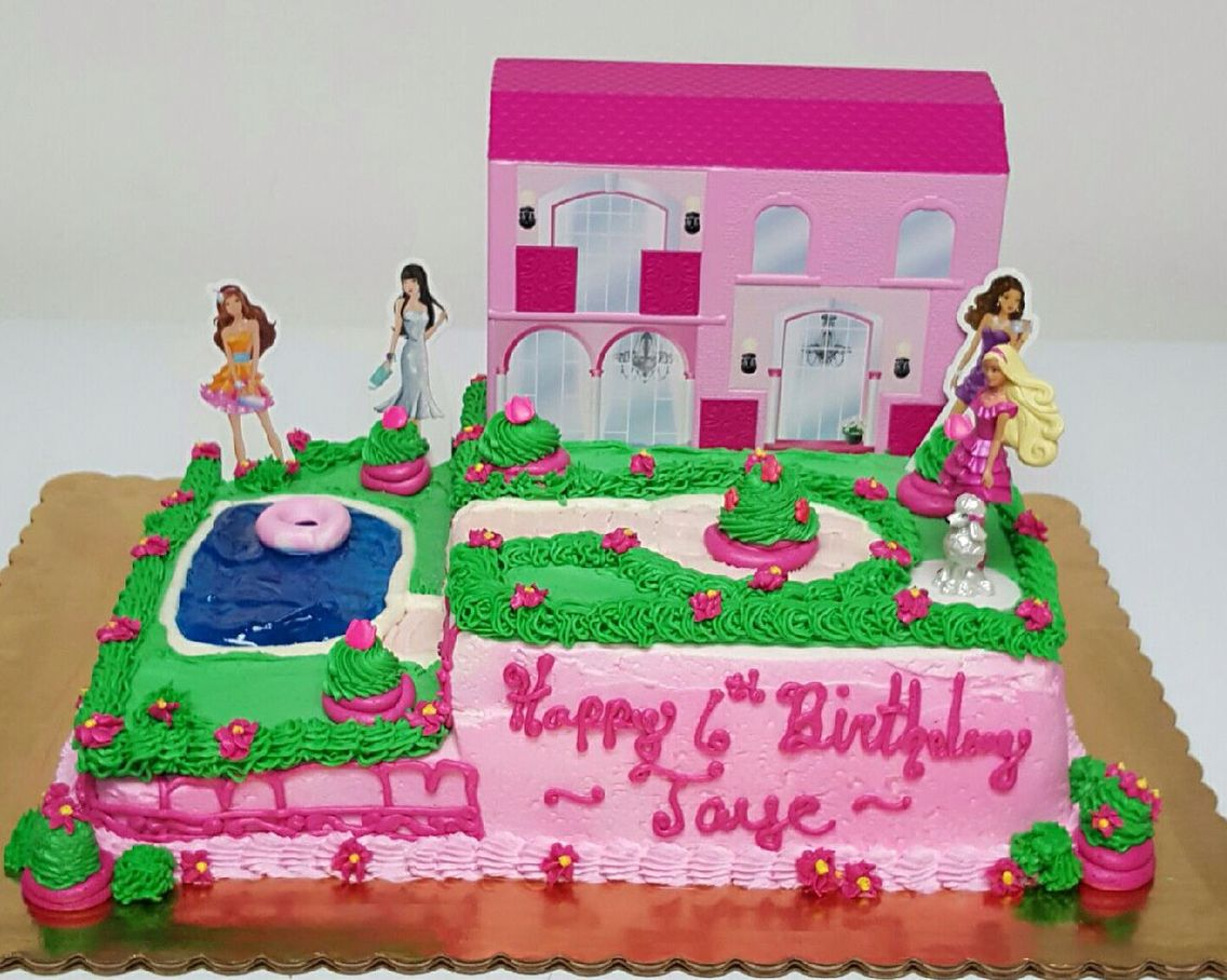Barbie Life In The Dreamhouse Birthday Cake