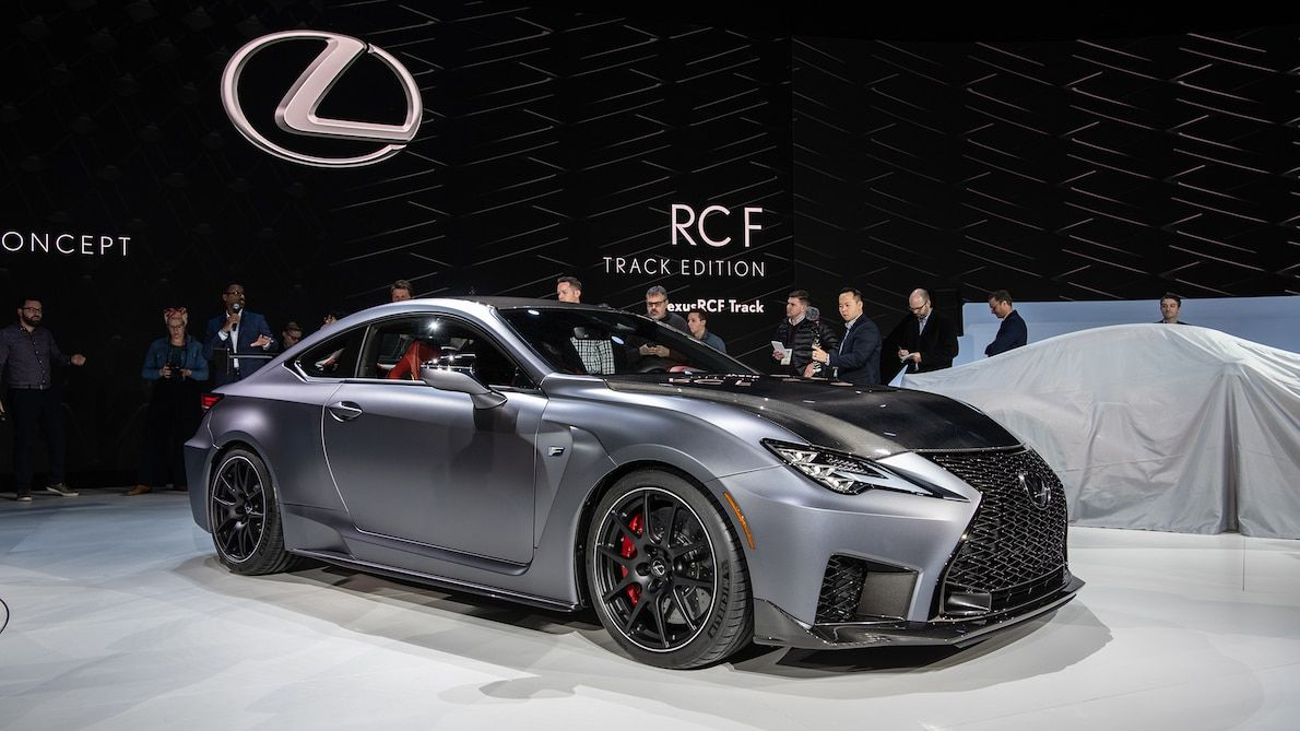 2020 Lexus RC F Track Edition First Look Lexus sports