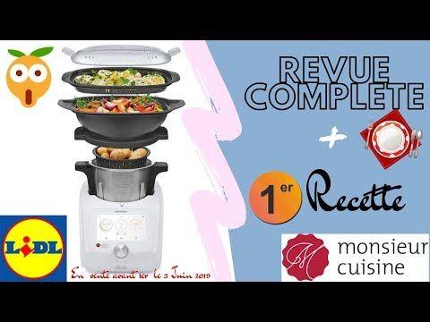 ❥¦ REVUE COMPLETE ➕ 1er Essai Recette // Monsieur Cuisine Connect LIDL