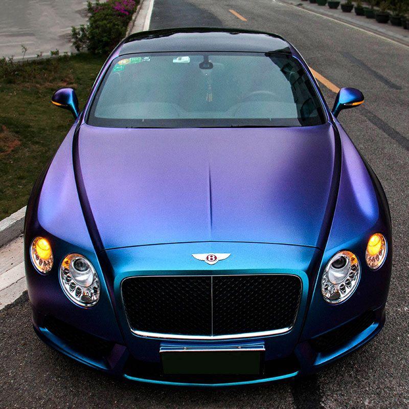 Iridescence Chrome Color Change Full Body Car Wrap Vinyl