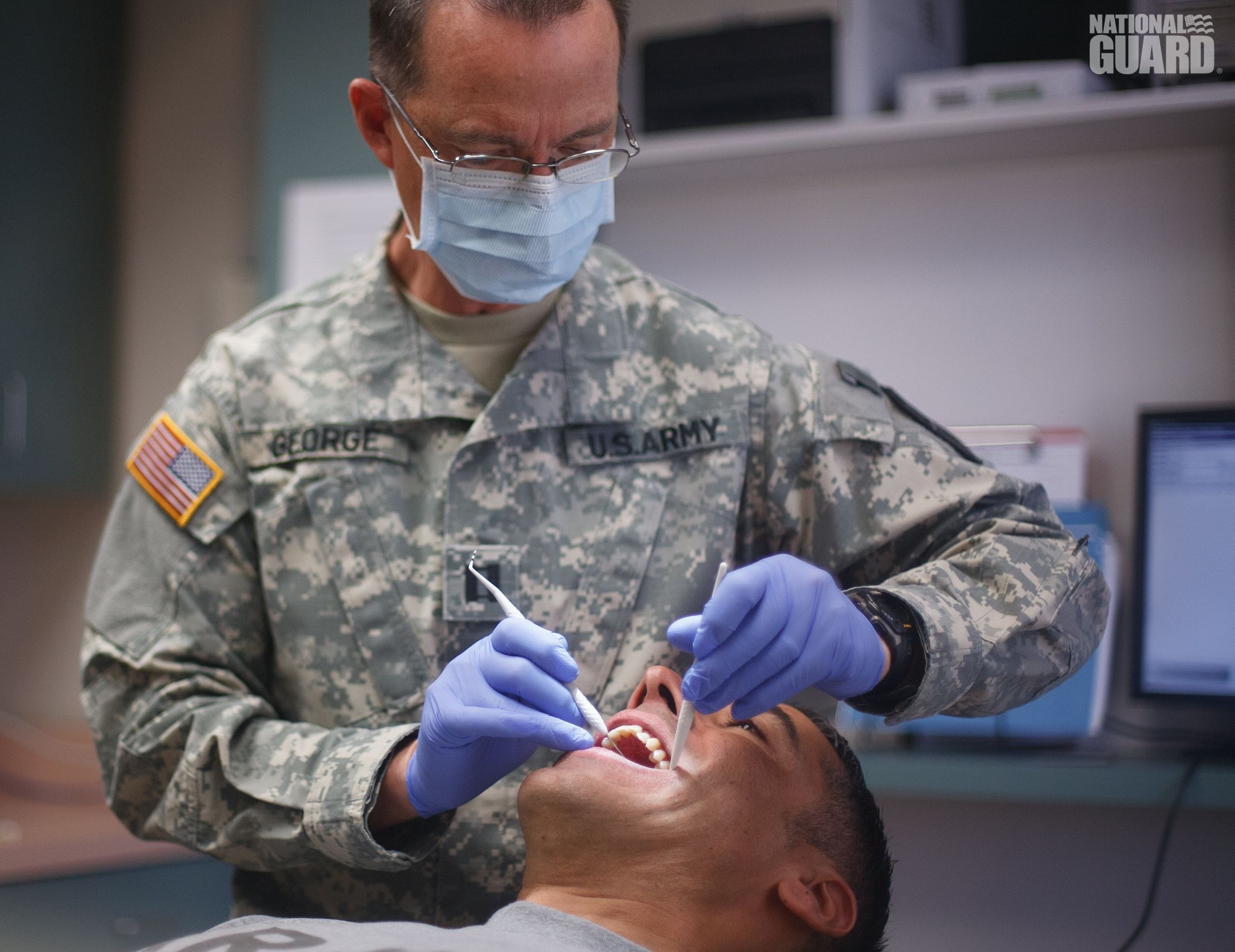 Did you know that the Army National Guard has dentists? Use your ...