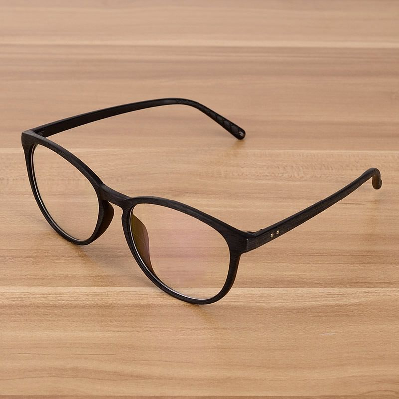 3b94857751a NOSSA Brown Vintage Glasses Classic Women And Men s Eyeglasses Frame Retro  Eyewear Frames Clear Lens Fashion