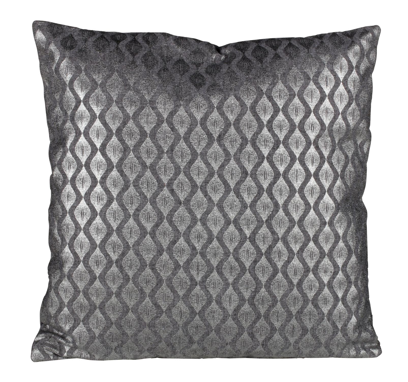 coussin 40x40 cm vague argent pinterest vagues boire et argent. Black Bedroom Furniture Sets. Home Design Ideas