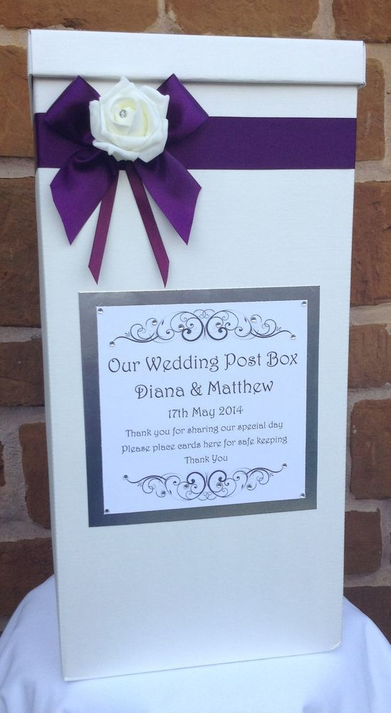 Wedding Card Post Box Favours Gifts Table Centrepieces