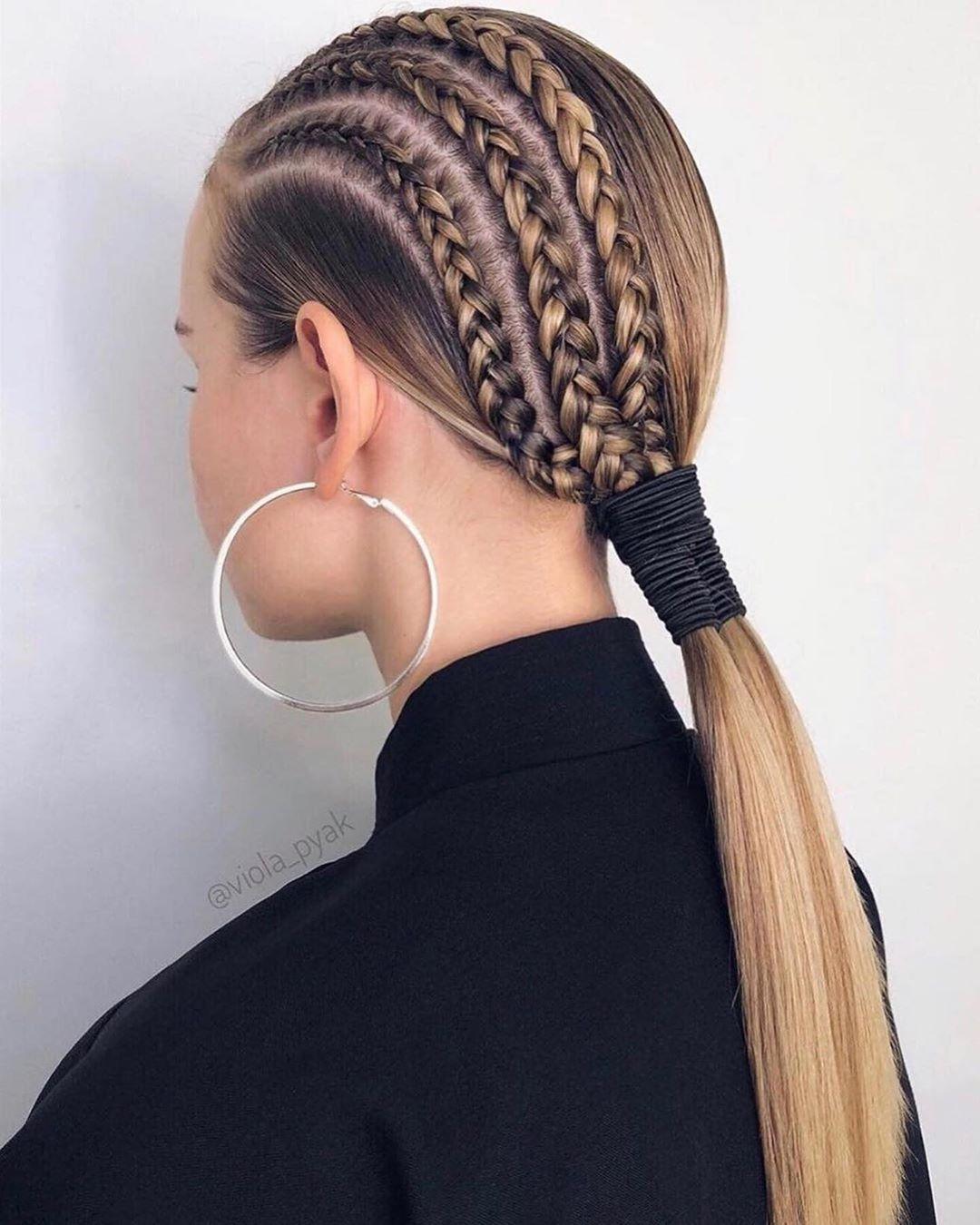 Instagram Da Hair Tutorials Via Viola Pyak Easy Hairstyles For Long Hair Braided Hairstyles Long Hair Styles