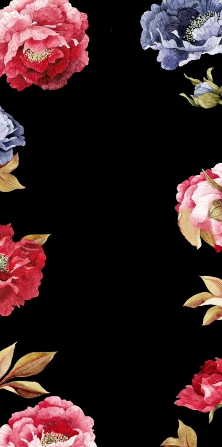 Floral Chinoiserie Peonies Ideas de fondos de