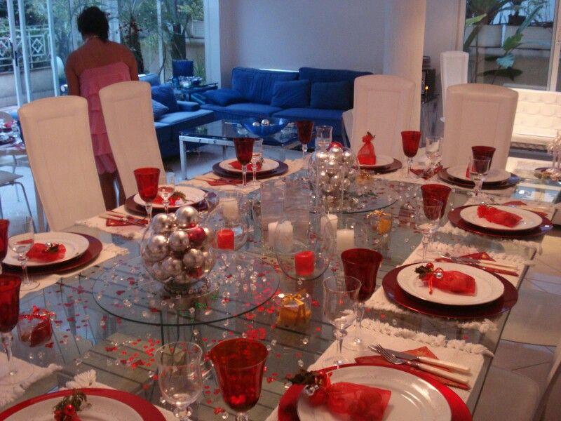 Tischdecke zur Weihnachten