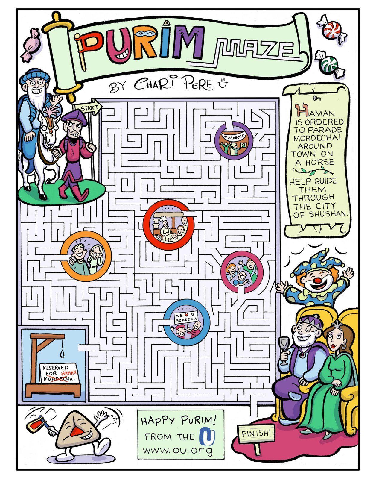 Fun Games Purim Purim Jewish Holiday Feast Of Purim