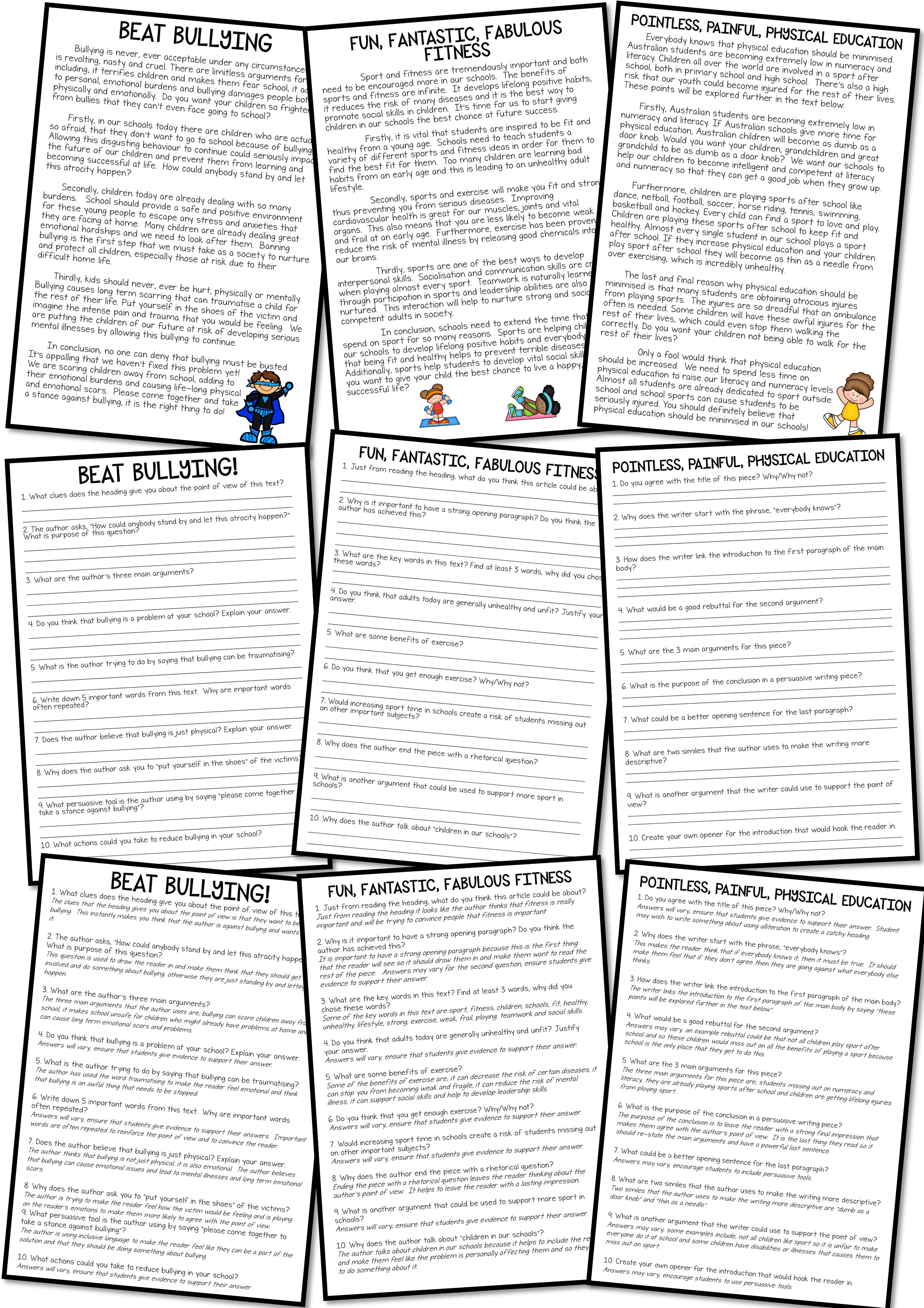 10 Persuasive Essay Samples To Help Students Understand The Features And Structure Of A Persuasive Pie Persuasive Text Writing Comprehension Persuasive Writing [ 3508 x 2480 Pixel ]
