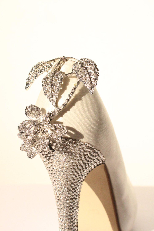 Diamante Bridal Shoes Various Styles And Colours By VBrideBoutique GBP20000