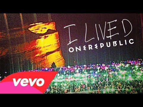 Onerepublic I Lived Audio One Republic Like This Song Kinds Of Music