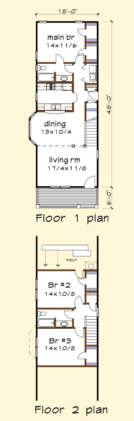 House Plan 1301b Standard Series Thompsonplans Com Small Room Layouts Flooring Options Living Room Small House Layout