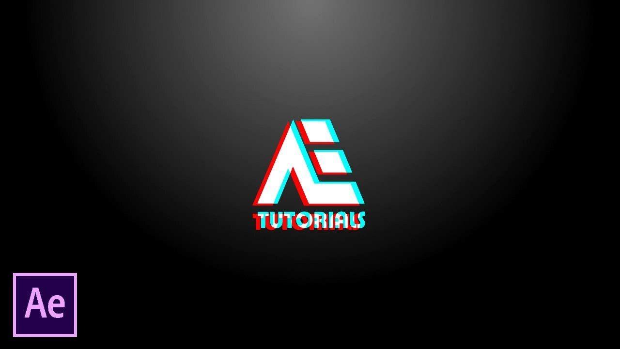 After Effects Tutorial Glitch Logo Animation Easy Method