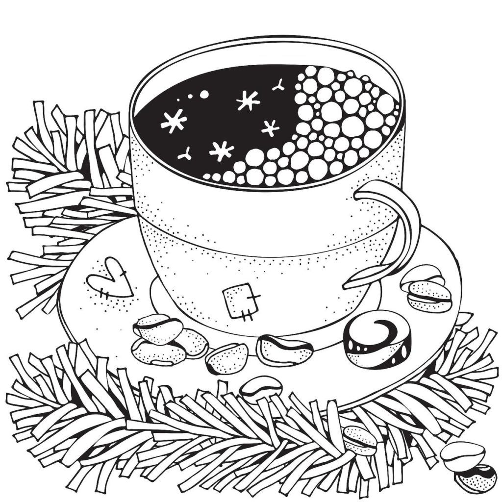 Winter Coloring Pages Coloring pages winter, Adult