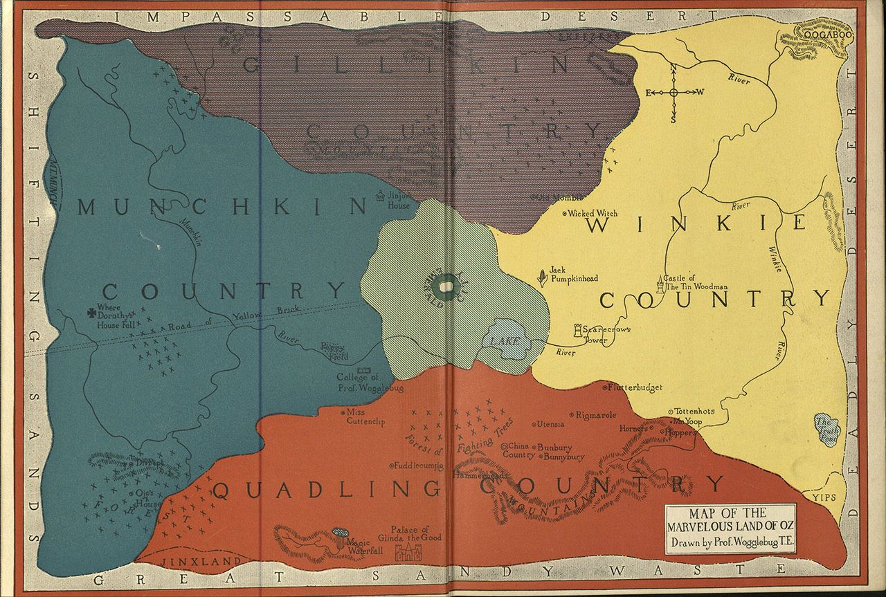 Charting the Geography of Classic Literature Charting