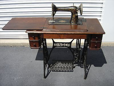 Antique Singer Sewing Machine Treadle Type From 40 Simple 1923 Singer Sewing Machine
