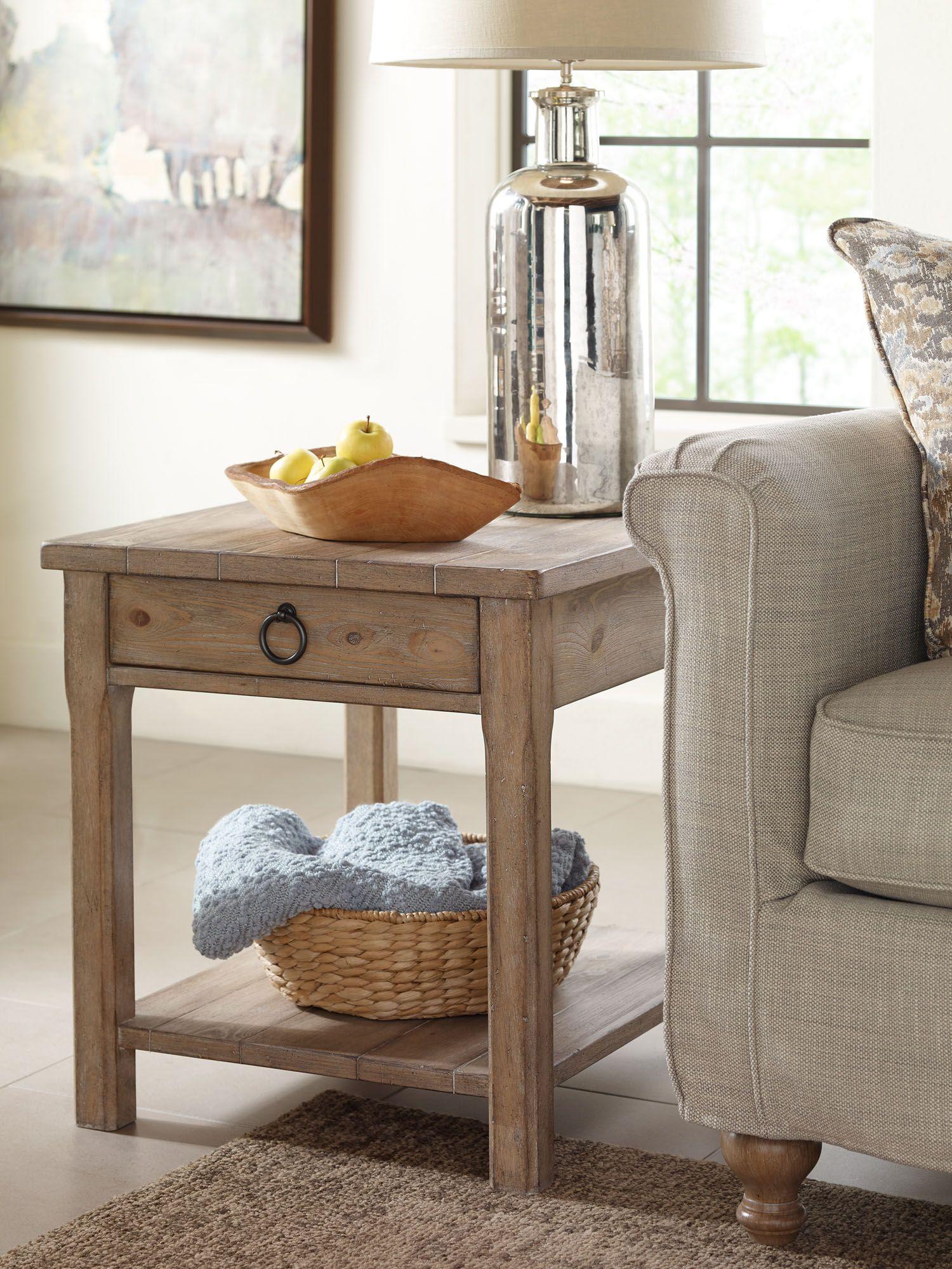 Monteverdi End Table Rachael Ray Home Legacy Classic Furniture