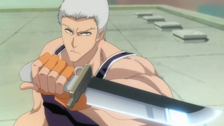 Tachikaze (Vento Dilacerador de Terra) shikai - Kensei Muguruma