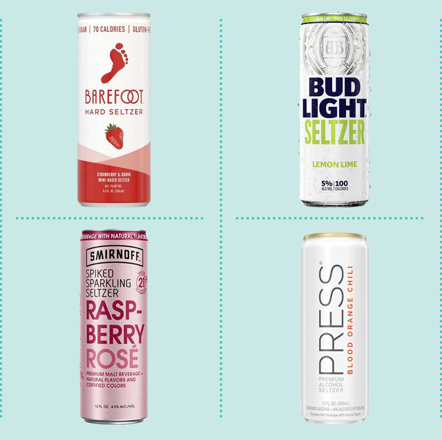 We Tried 50 Different Cans Of Hard Seltzer To Find The Best Flavors Hard Seltzer Best Alcohol Seltzer