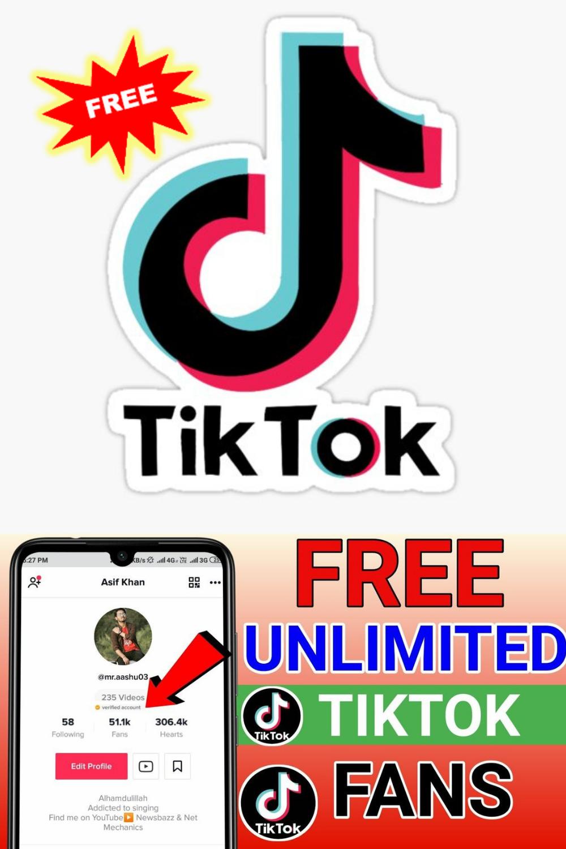 How To Get Tiktok Follower Free Tiktok Hack 2021 How To Get Followers Free Followers Heart App