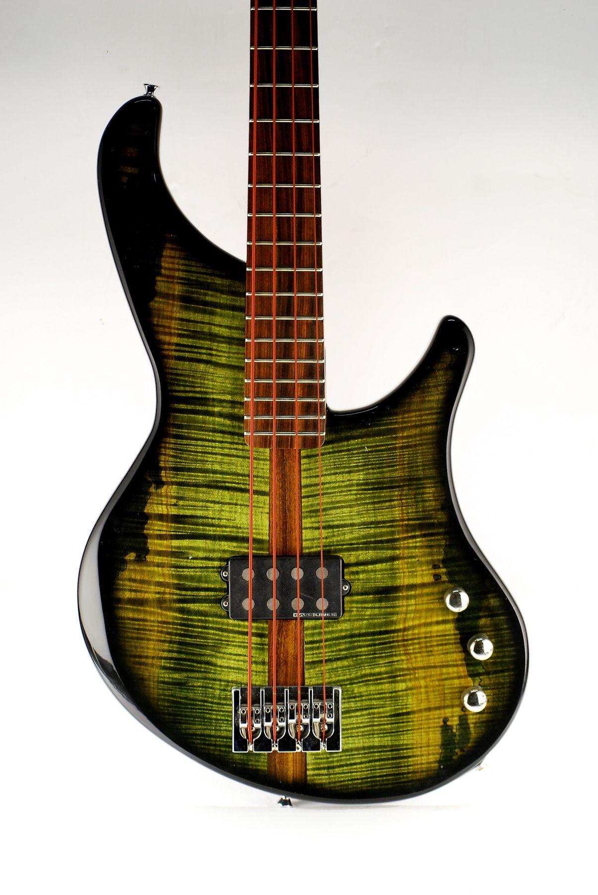 1995 Modulus VJ-4 Vintage Jazz Bass w/ John East Pre-amp and Hipshot  D-Tuner #Modulus #JazzBass | Musical Instruments & Accessories | Bass, ...
