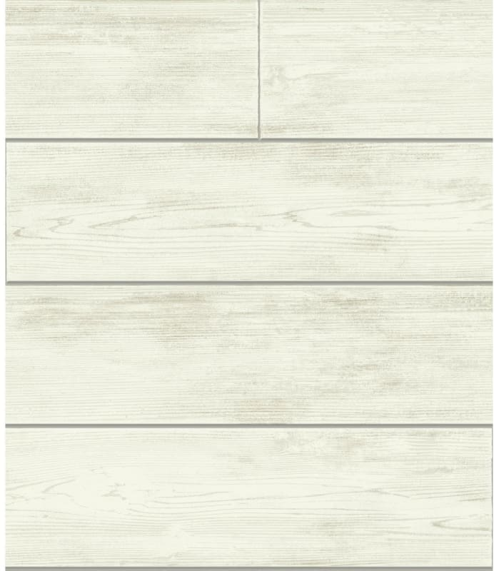 York Wallcoverings MH1559 56 Square Foot Shiplap by