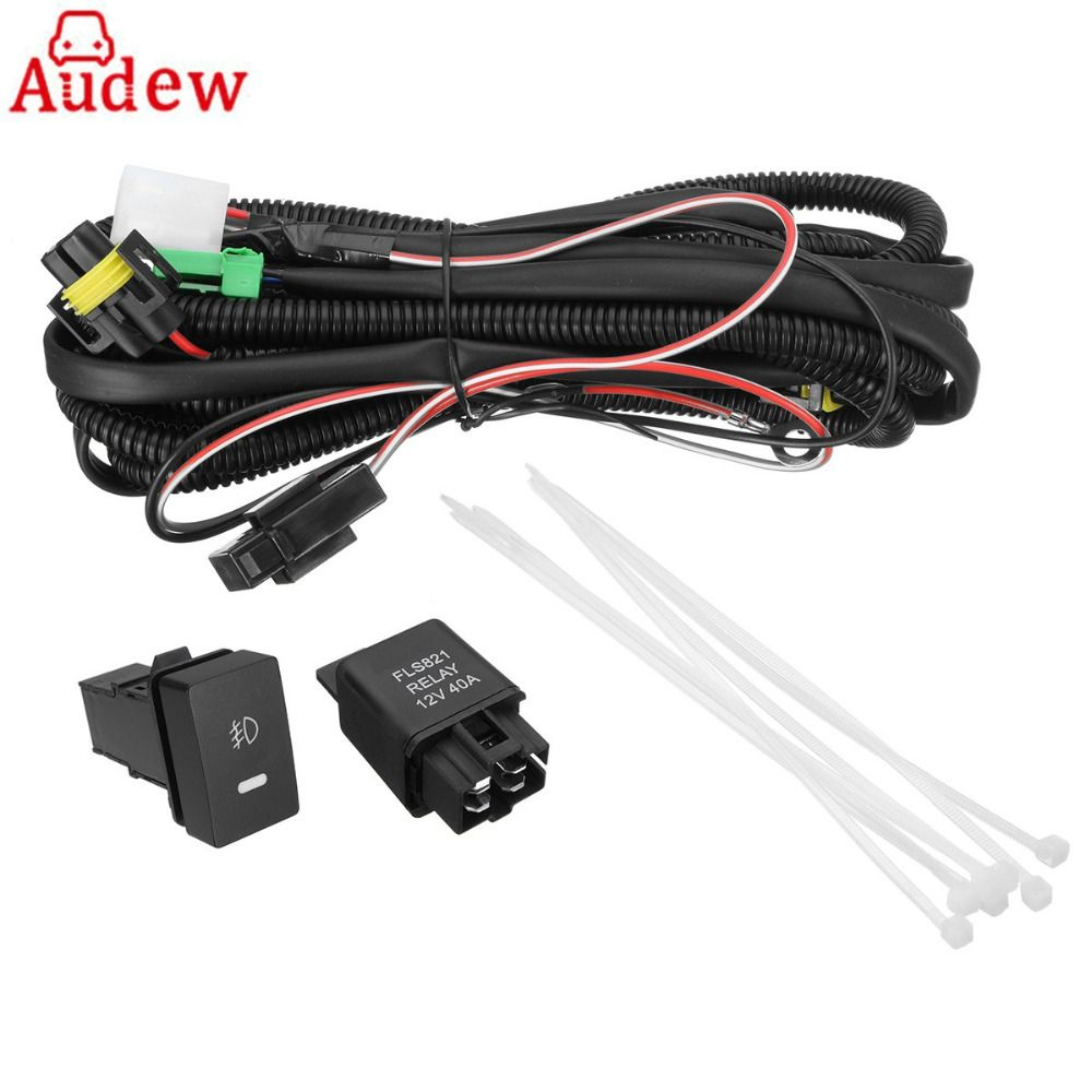 sale h11 fog light wiring harness sockets wire led indicators switch  automotive relay for #led #automotive #lights