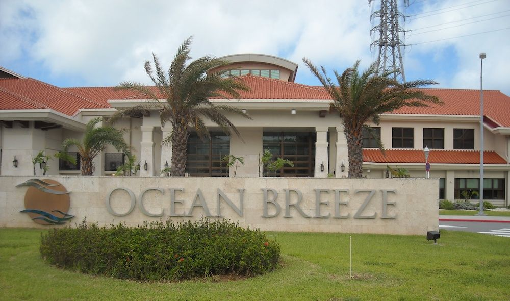 Ocean Breeze CONTRIBUTED BY LEEANN STEVENS Ocean Breeze Ocean breeze is one of my favorite on base restaurants. The two-level consolidated Club is a 44,000-square-foot facility that includes a 165-seat Mediterranean-themed dining room called The Veranda with bo ...