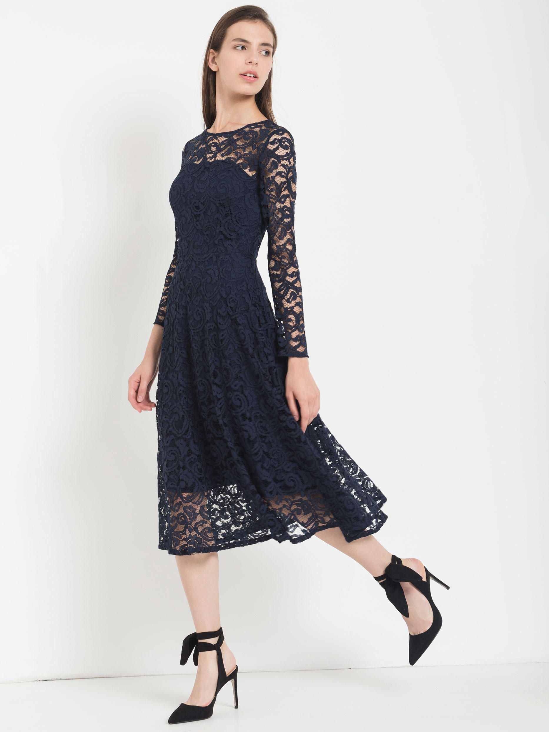Платье из гипюра каталог
