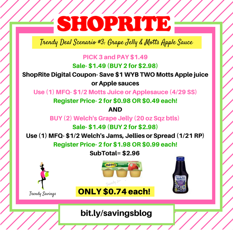 Updated My Top Fave ShopRite Deals & Coupon Matchups