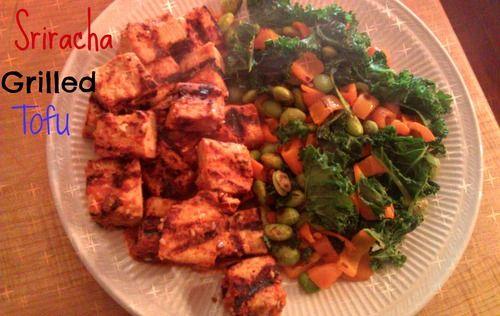 Sriracha Tofu and veggies