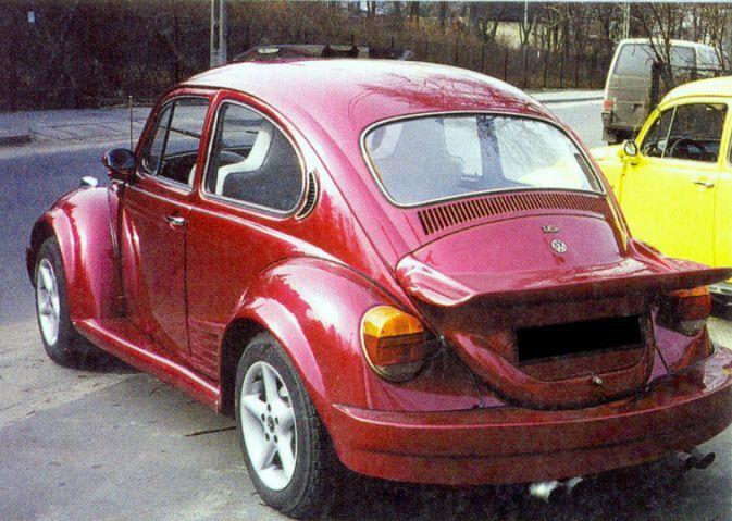 Volkswagen Vw Beetle Rear Bumper Part Of Body Kit Bodykit