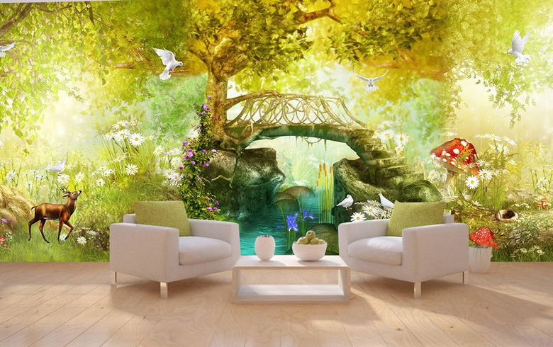 d coration murale grande panoramique paysage fa d coration murale grande panoramique papier. Black Bedroom Furniture Sets. Home Design Ideas