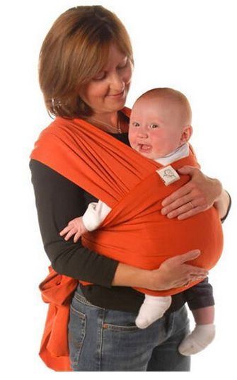 c3085c2efca Breathable Infant Sling Soft Natural Wrap Carrier Baby Backpack ...