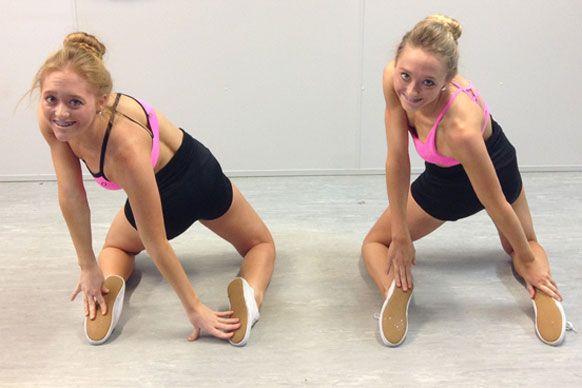 The Rybka Twins Google Search Gymnastik Zwillinge Turnen