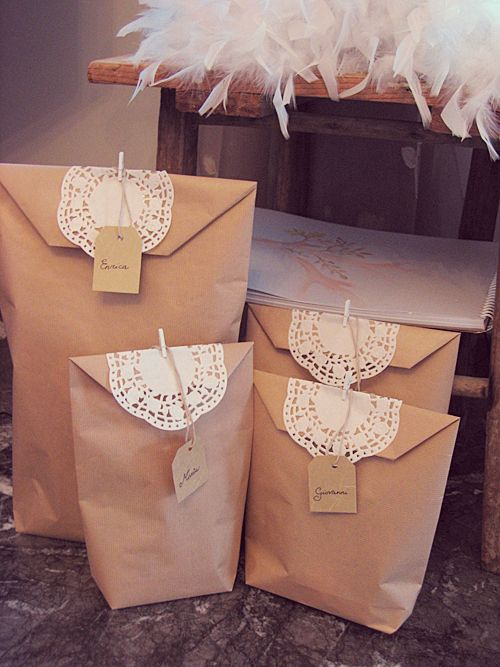 cute wrapping for out of town wedding guest | wedding ideas ...