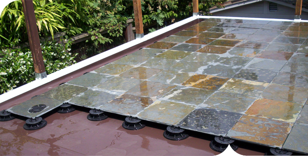 Deck Waterproofing Membrane : Since duradek pvc membranes have been used to