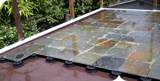 roof deck floating deck