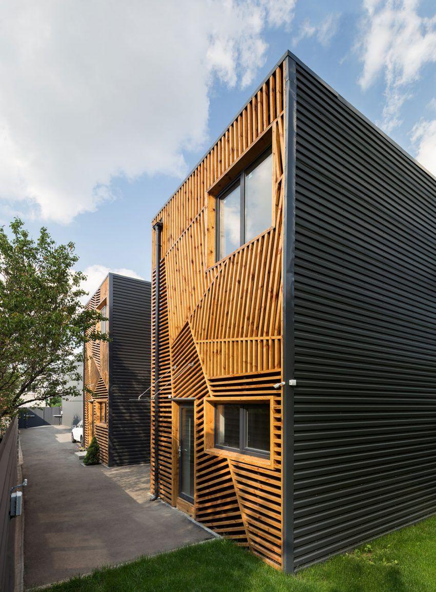 Pominchuk architects build a terraced house in kharkiv ukraine houses architecture decor design