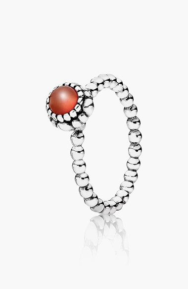 eb5956d6f I want this so bad! perfect b-day gift!! I might just get it for myself!  lol PANDORA 'Birthday Blooms' Ring available at #Nordstrom