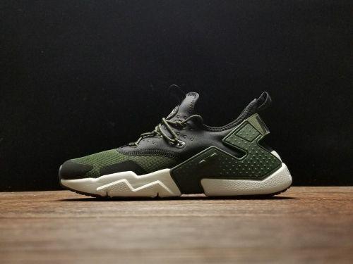 610f2a0cabe85d Shop Nike Air Huarache Drift Sequoia Light Bone Black White - Mysecretshoes