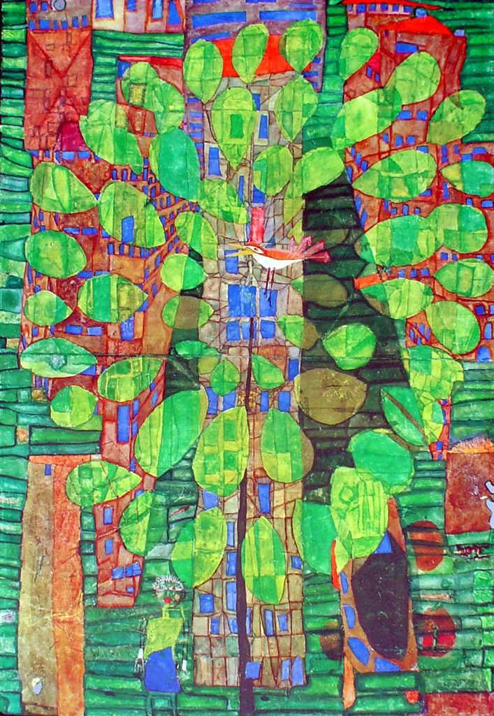 """Friedrich Hundertwasser 