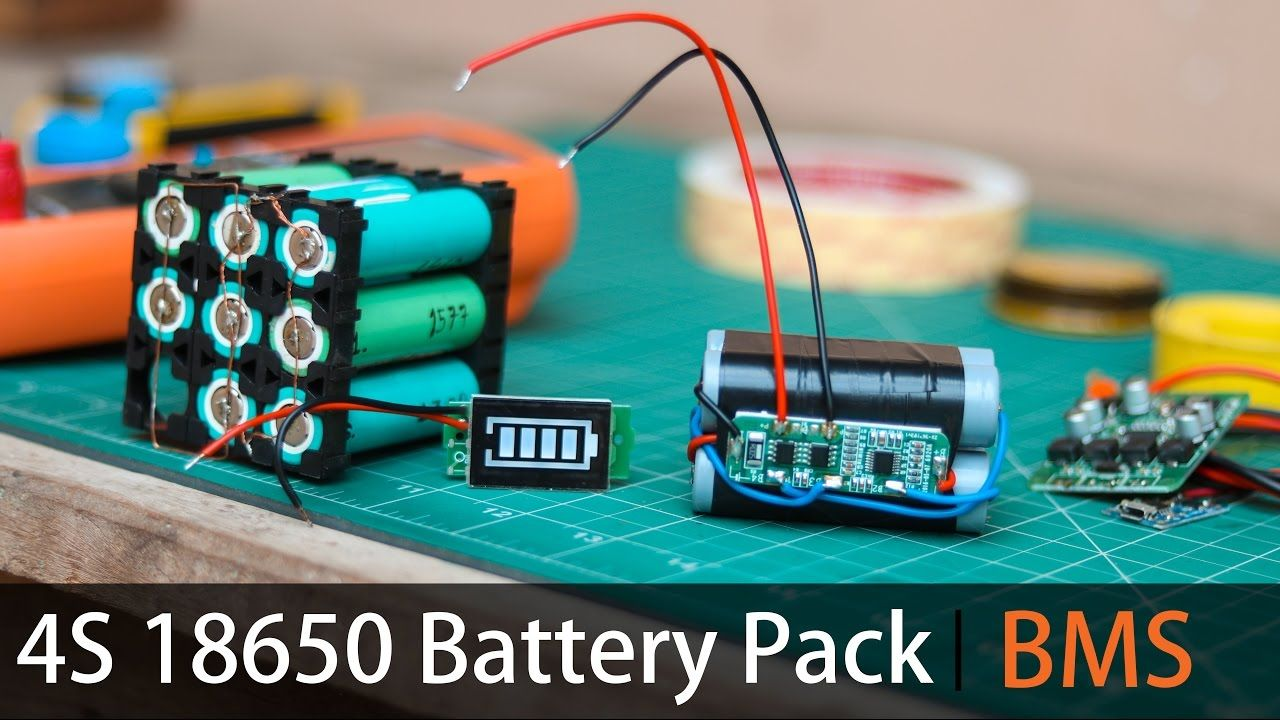 Make Your Own 4s Lithium Battery Pack Bms
