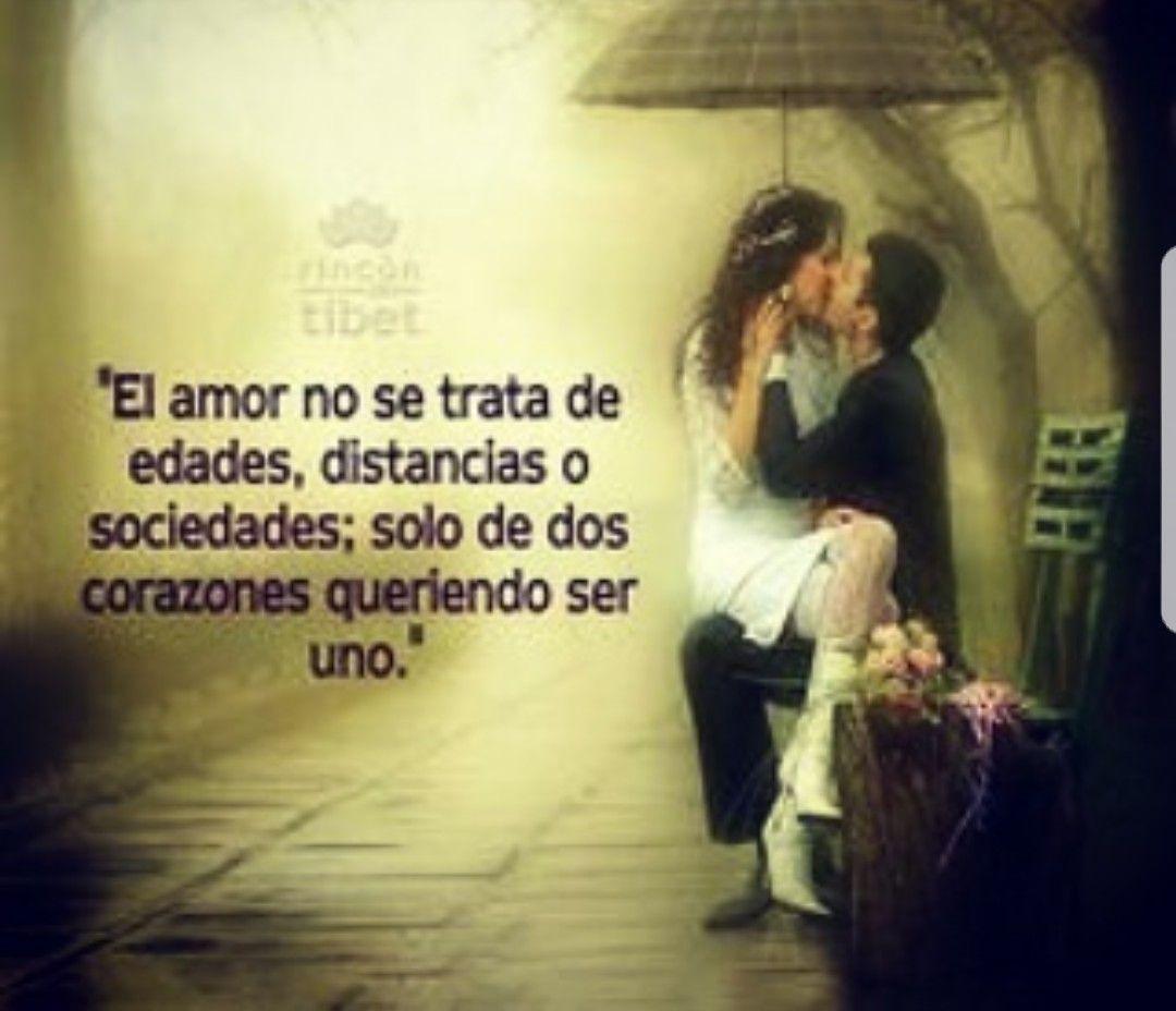 La edad unca importa cuando el amor es cincero y la distancia menos cuanto estas dispuesto a soportar la espera por amor
