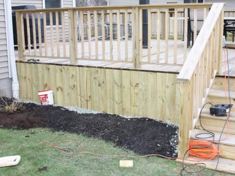 Deck skirting ideas   For the Home/ diy   Deck skirting ...