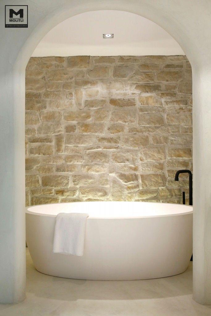 Badkamer betonstuc | | Bathrooms | Pinterest | Badezimmer, Bad und ...