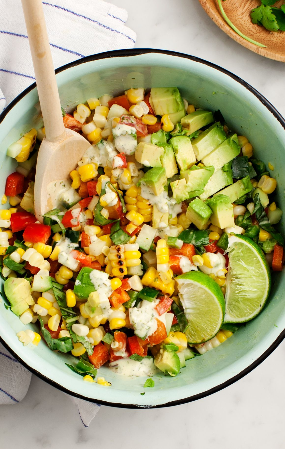 Corn Salad Recipe Lime