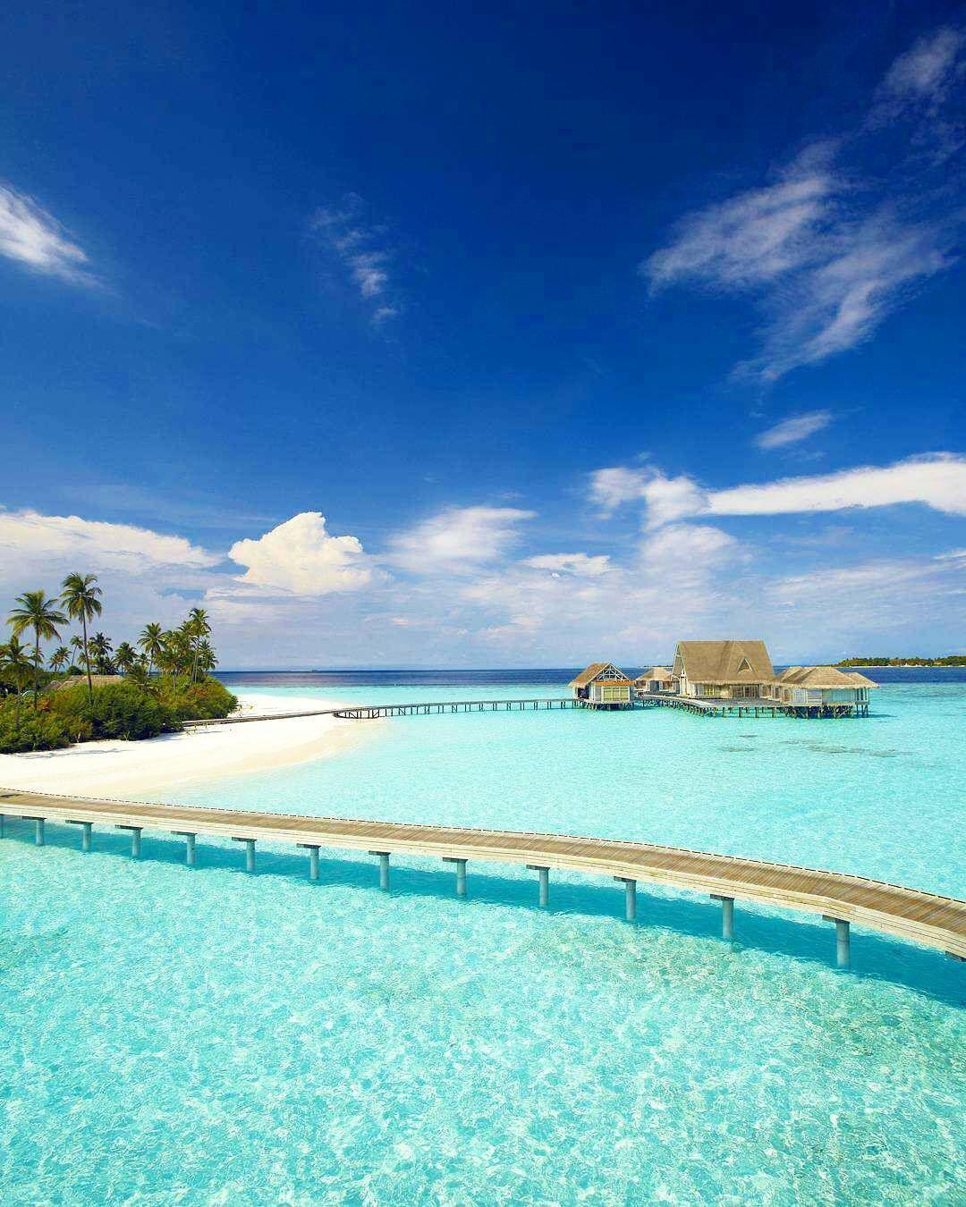 Maldives Beach: モルディブ, 旅行, 美しい風景