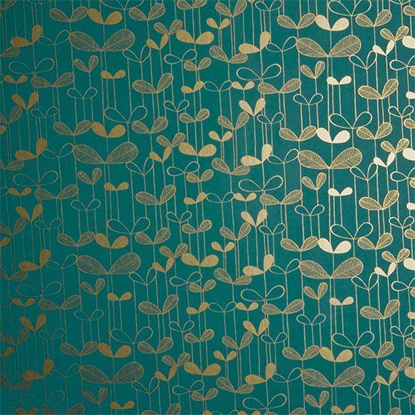 papier peint saplings bleu canard canards et bleu. Black Bedroom Furniture Sets. Home Design Ideas