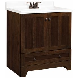 Best Get Estate By Rsi 30 Cognac Oak Ashton Bottom Drawer Bath 400 x 300